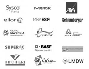 liste entreprises clientes